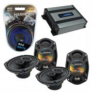 Compatible with Dodge Magnum 2008-2008 Factory Speaker Replacement Harmony (2) R69 & Harmony ...