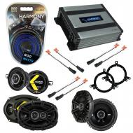 Compatible with Dodge Neon 2002-2006 Factory Speaker Replacement Kicker DS & Harmony HA-A400....