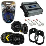 Compatible with Dodge Ram Truck 1500 2002-2008 Factory Speaker Replacement DS & Harmony HA-A4...