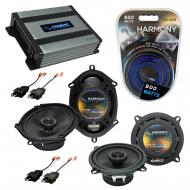 Compatible with Dodge Shadow 1987-1995 Factory Speaker Replacement Harmony R5 R68 & Harmony H...