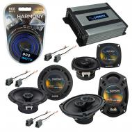 Compatible with Eagle Talon 1995-1998 OEM Speaker Replacement Harmony R65 R4 R69 & Harmony HA...