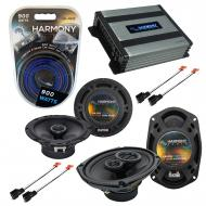 Compatible with Dodge Stratus 1995-2000 OEM Speaker Replacement Harmony R65 R69 & Harmony HA-...
