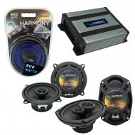 Compatible with Fiat 131 1990-1983 Factory Speaker Replacement Harmony R5 R69 & Harmony HA-A4...