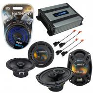 Compatible with Dodge Stratus 2001-2006 Factory Speaker Replacement Harmony (2) R69 & Harmony...