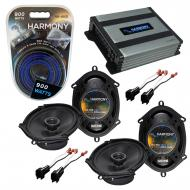 Compatible with Ford Edge 2007-2010 Factory Speaker Replacement Harmony (2) R68 & Harmony HA-...