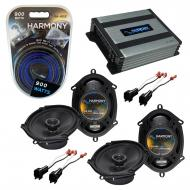 Compatible with Ford Escape 2001-2012 Factory Speaker Replacement Harmony (2) R68 & Harmony H...