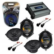 Compatible with Ford Excursion 2000-2005 Factory Speaker Replacement Harmony (2) R68 & Harmon...