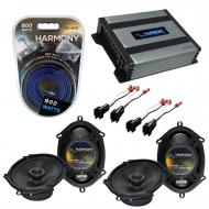 Compatible with Ford F-650/750 2005-2010 Factory Speaker Replacement Harmony (2) R68 & Harmon...