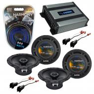 Compatible with Ford Fusion 2006-2009 Factory Speaker Replacement Harmony (2) R65 & Harmony H...