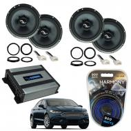 Compatible with Ford Fusion 2013-2019 Premium Speaker Replacement Package Harmony C65 Harmony HA-...