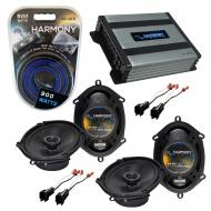 Compatible with Ford Ranger 1998-2011 Factory Speaker Replacement Harmony (2) R68 & Harmony H...