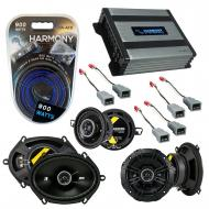 Compatible with Ford Thunderbird 1983-1985 Speaker Replacement Kicker DS Series & Harmony HA-...