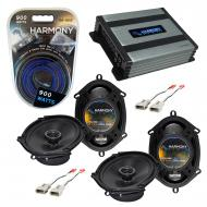 Compatible with Ford Windstar 1995-1998 OEM Speaker Replacement Harmony (2) R68 & Harmony HA-...