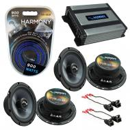 Compatible with GMC Canyon 2004-2012 Factory Speakers Replacement Harmony (2) C65 & Harmony H...