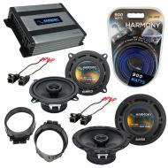 Compatible with GMC Sierra 2500HD/3500HD 2014 OEM Speaker Replacement Harmony Speakers & Harm...