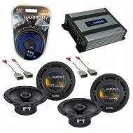 Compatible with Honda CRX 1988-1991 Factory Speaker Replacement Harmony (2) R65 & Harmony HA-...