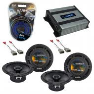 Compatible with Honda Element 2003-2011 OEM Speaker Replacement Harmony (2) R65 & Harmony HA-...