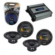 Compatible with Honda Fit 2007-2008 Factory Speaker Replacement Harmony (2) R65 & Harmony HA-...