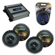 Compatible with Honda Fit 2007-2008 Factory Speakers Replacement Harmony (2) C65 & Harmony HA...