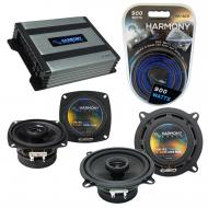 Compatible with Honda Passport 1998-2002 OEM Speaker Replacement Harmony R5 R4 & Harmony HA-A...