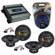 Compatible with Honda Pilot 2003-2008 Factory Speaker Replacement Harmony (2) R65 & Harmony H...
