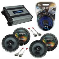 Compatible with Honda Pilot 2003-2008 Factory Speakers Replacement Harmony (2) C65 & Harmony ...