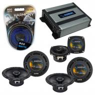 Compatible with Hummer H2 2008-2009 Factory Speaker Replacement Harmony (2) R65 R4 & Harmony ...