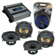 Compatible with Hyundai Accent 2000-2001 Speaker Replacement Harmony (2) R5 & Harmony HA-A400...