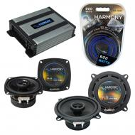 Compatible with Hyundai Scoupe 1991-1995 Speaker Replacement Harmony R4 R5 & Harmony HA-A400....
