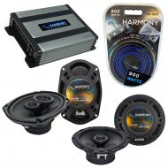 Compatible with Hyundai Tiburon 1997-2001 OEM Speaker Replacement Harmony R65 R69 & Harmony H...