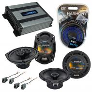 Compatible with Hyundai Tiburon 2003-2008 OEM Speaker Replacement Harmony R65 R69 & Harmony H...