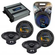 Compatible with Infiniti I30 1996-2008 Speaker Replacement Harmony (2) R65 & Harmony HA-A400....
