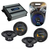 Compatible with Infiniti I35 2002-2004 Speaker Replacement Harmony (2) R65 & Harmony HA-A400....
