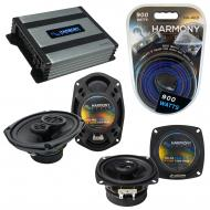 Compatible with Infiniti Q45 1990-1996 OEM Speaker Replacement Harmony R4 R69 & Harmony HA-A4...