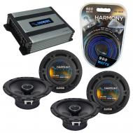 Compatible with Infiniti Q45 2002-2005 Speaker Replacement Harmony (2) R65 & Harmony HA-A400....