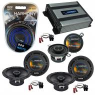 Compatible with Isuzu Ascender 03-08 OEM Speaker Replacement Harmony (2) R65 R35 & Harmony HA...