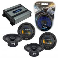 Compatible with Isuzu Axiom 2001-2004 Factory Speaker Replacement Harmony (2) R65 & Harmony H...