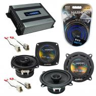 Compatible with Isuzu I-Mark: S/XS/RS/LS 85-91 OEM Speaker Replacement Harmony Speakers & Har...