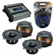 Compatible with Jaguar XJ 1998-2005 OEM Speakers Replacement Harmony (2) C5 & Harmony HA-A400.4