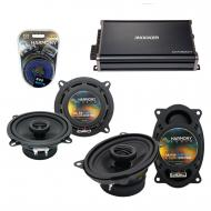 Compatible with Jeep Comanche Pickup 1985 OEM Speaker Replacement Harmony R5 R46 & Harmony HA...