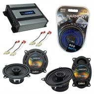 Compatible with Jeep Comanche Pickup 86-92 OEM Speaker Replacement Harmony R5 R46 & Harmony H...