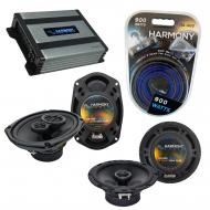 Compatible with Jeep Commander 06-07 OEM Speaker Replacement Harmony R69 R65 & Harmony HA-A40...