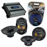 Compatible with Jeep Commander 08-10 OEM Speaker Replacement Harmony R69 R65 & Harmony HA-A40...