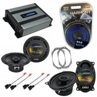 Harmony Audio Compatible With 1997-06 Jeep Wrangler HA-R46 HA-R65 Factory OEM Speaker Replacement...