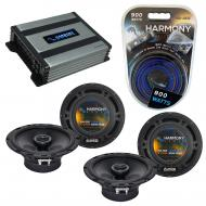 Compatible with Kia Sorento 2003-2009 Factory Speaker Replacement Harmony (2) R65 & Harmony H...