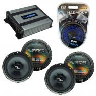 Compatible with Kia Sorento 2003-2009 Factory Speakers Replacement Harmony (2) C65 & Harmony ...