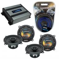 Compatible with Land Rover Discovery 94-99 OEM Speaker Replacement Harmony (2) R5 & Harmony H...