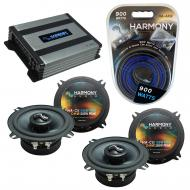 Compatible with Land Rover Discovery II 99-02 OEM Speakers Replacement Harmony (2) C5 & Harmo...