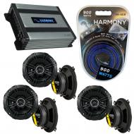 Compatible with Land Rover Freelander 02-06 Speaker Replacement Kicker (3) DSC5 & Harmony HA-...