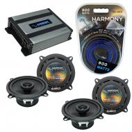 Compatible with Lexus ES 300 1997-2006 Factory Speaker Replacement Harmony (2) R5 & Harmony H...